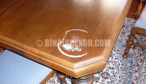 Masa Üzerindeki Yanık Lekeleri Nasıl Temizlenir