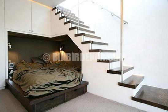Merdiven Altı Dekorasyon Örnekleri
