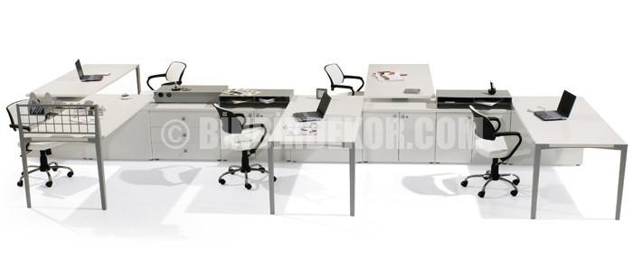 Bürotime Operasyonel Grup Mobilyaları GO Serisi