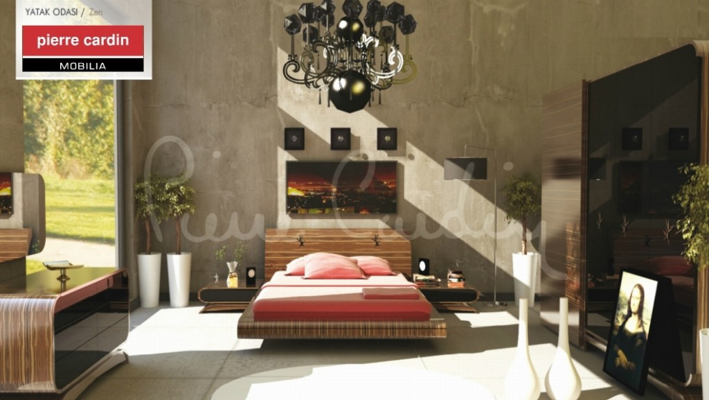 Pierre Cardin Yatak Odası (Zen)