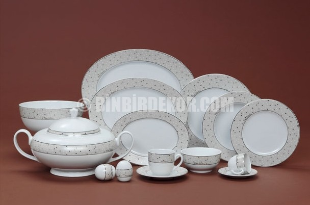 Pierre Cardin New Bone China yemek takımı modelleri