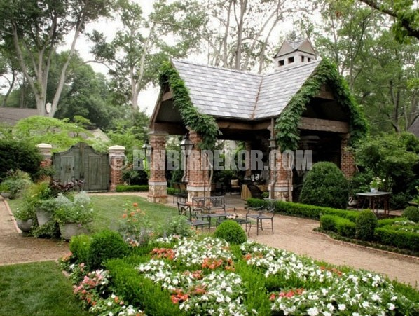 Muhteşem bahçe peyzaj fikirleri