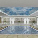 Çok güzel kapalı havuz tasarımları