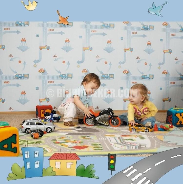 Bebek odası duvar dekorasyonu bebek odası için duvar kağıtları