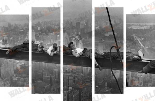 Siyah Beyaz canvas tablolar (WallZilla)