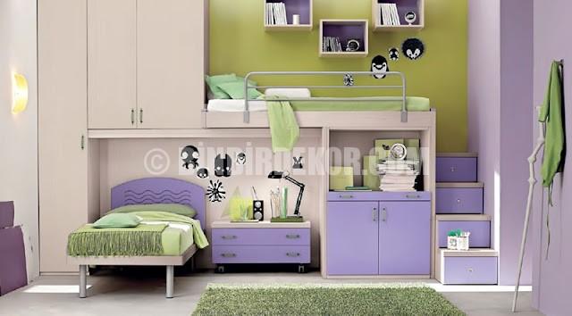 Özel genç odası tasarımları