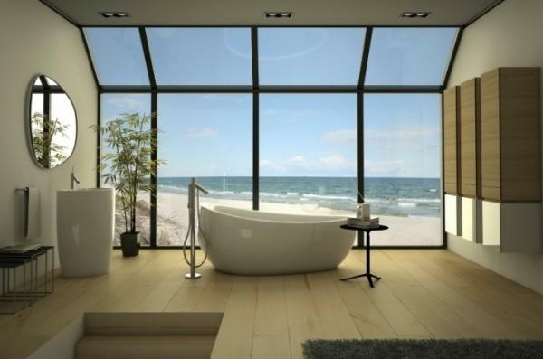 Bathroom Another Stunning Show: Manzaralı Banyo Dekorasyonları (Danelon Meroni