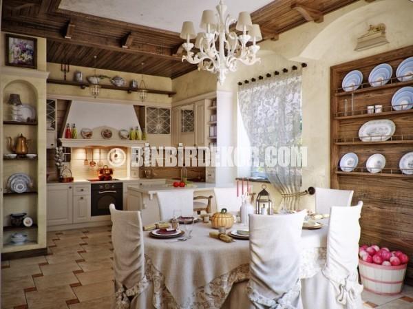 Country tarzı mutfak tasarımları binbir dekor country tarzı mutfak