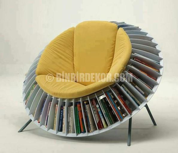 Pratik ve şık bir okuma koltuğu