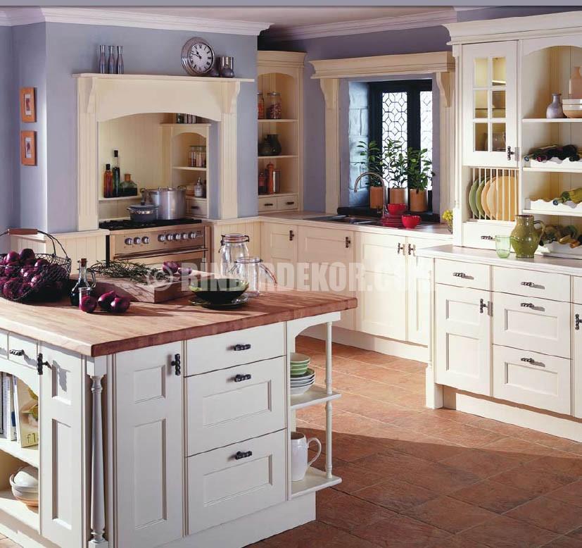 Geleneksel İngiliz mutfak dekorasyonları