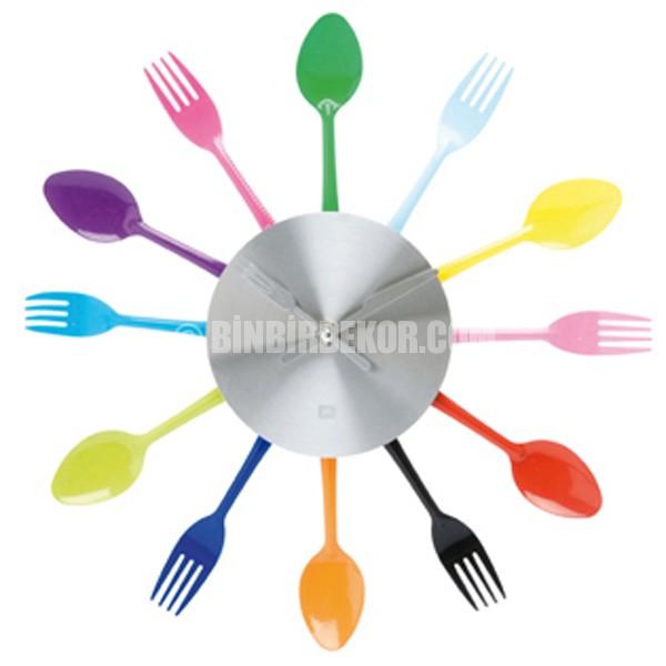 Mutfaklar için dekoratif saatler