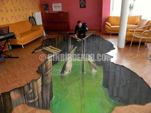 Ev dekorasyonunda 3D görsel efektler
