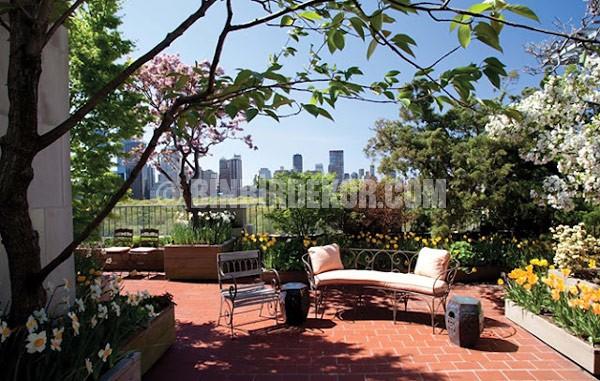 çatı bahçesi fikirleri