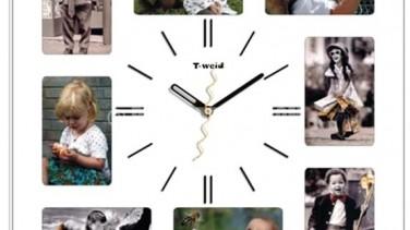 Çerçeveli duvar saatleri