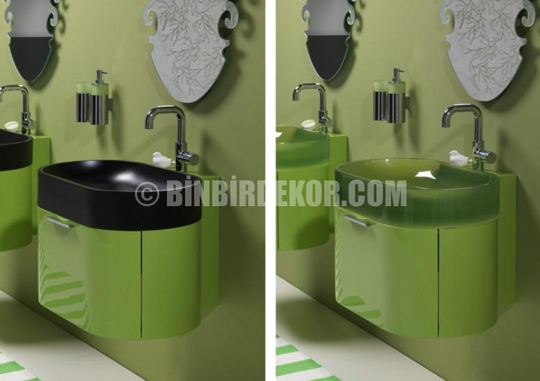 Modern İtalyan banyo tasarımları (Regia)