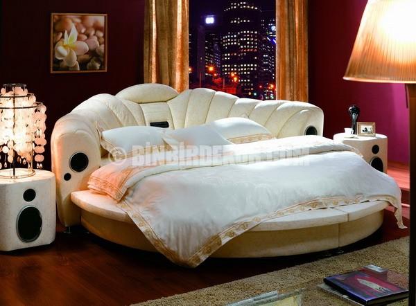 Çok güzel yuvarlak yataklar