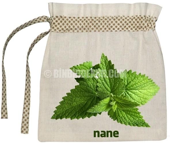 Çok dekoratif erzak torbaları
