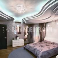 Asma Tavan Modelleri Yatak Odası 2015