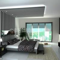 Led Işıklı Yatak Odası Asma Tavan Tasarımları