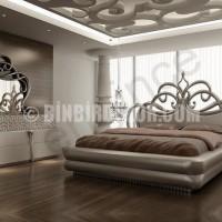 Yatak Odası İçin Asma Tavan Örnekleri