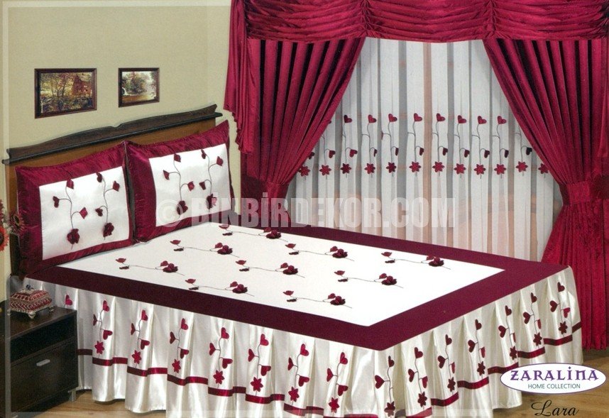 Perdeli yatak örtüleri 2013 (Home Collection)