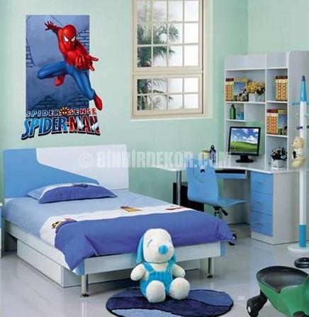 Çocuk odası için lisanslı duvar stickerları