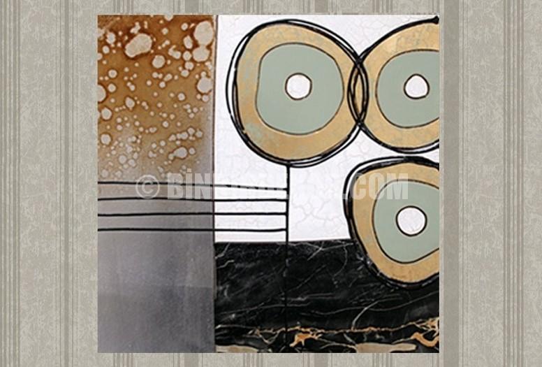Tablo dekorasyonunda yeni trend Metal tablolar