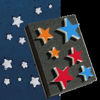 desenli boya aparatları yıldız baskı