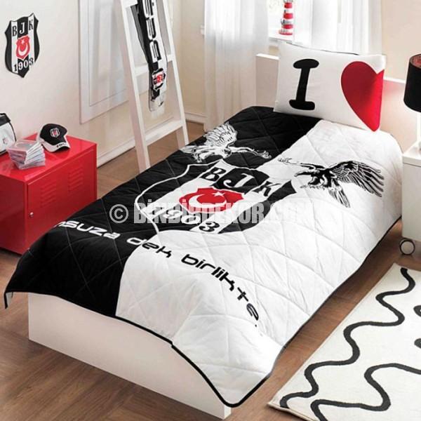 genç odası yatak örtüsü beşiktaş