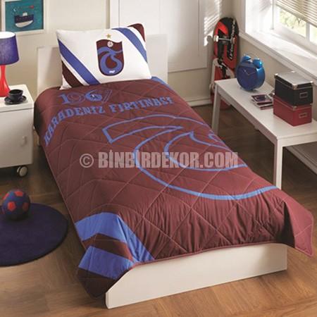 genç odası yatak örtüsü trabzonspor