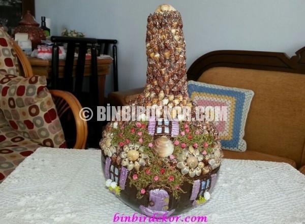 su kabağı dekoratif aksesuarlar