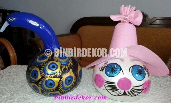 su kabağı dekoratif aksesuarlar_6
