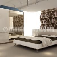Dekoratif Yatak Odası Takımları Modelleri