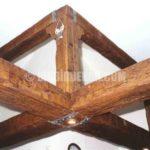 Ahşap görünümlü dekoratif tavan kirişleri