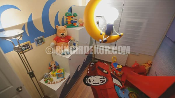 Evim Şahane çocuk odası dekorasyonları