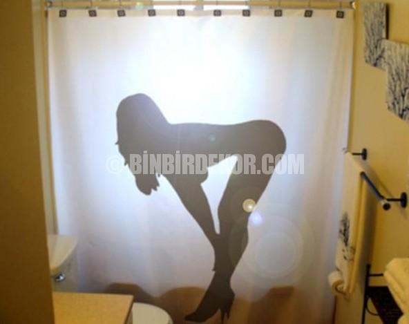 İlginç ve komik duş perdeleri
