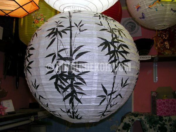 yatak odası dekorasyonu japon feneri