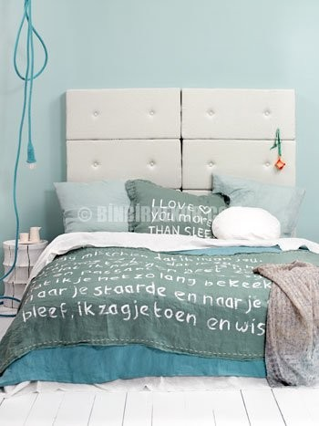 yatak odası dekorasyonu nevresim
