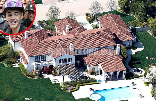 Justin Bieber'ın fakirhanesi