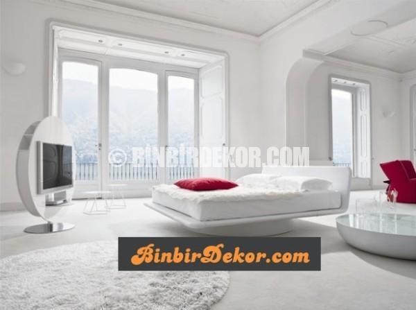 beyaz yatak odası dekorasyonları_4