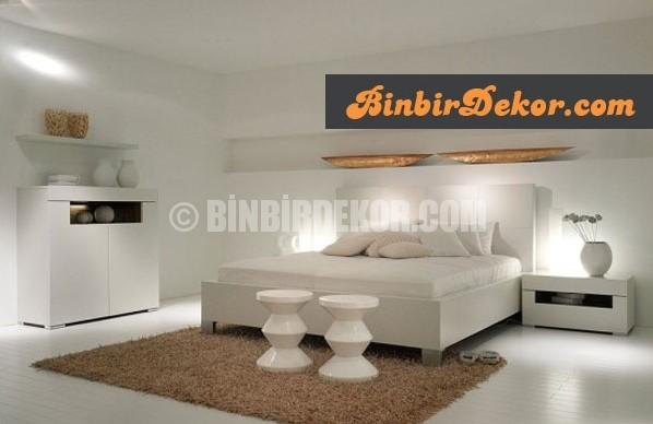 beyaz yatak odası dekorasyonları_5