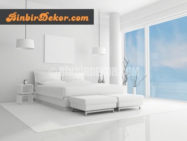 beyaz yatak odası dekorasyonları_6