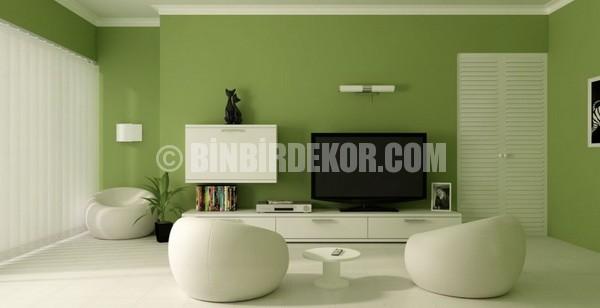 Duvar Renkleri Yeşil