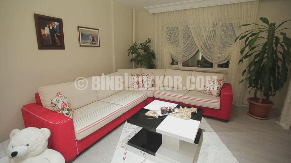 Evim Şahane oturma odası dekorasyonları (Önce-Sonra)
