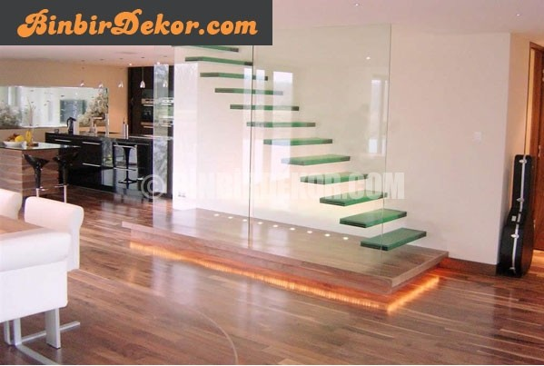 Cam merdiven çeşitleri