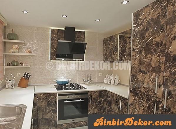 Evim Şahane mutfak dekorasyonları (Önce-Sonra)