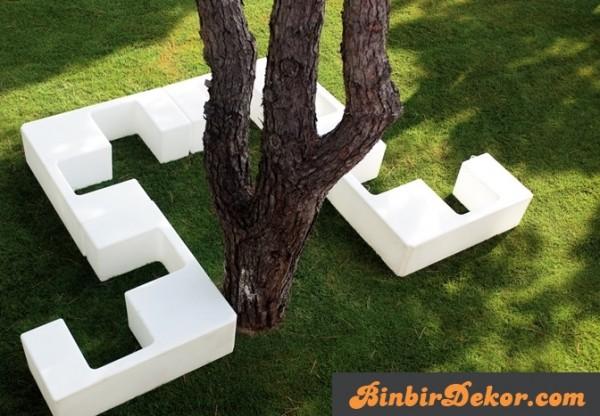 İtalyan bahçe mobilyaları