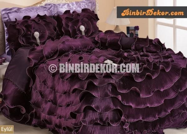 muhteşem yüzyıl yatak örtüsü evelina