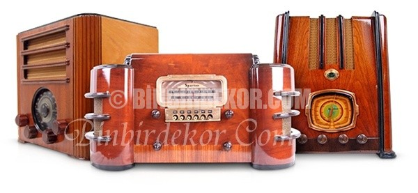 Meraklılarına çok özel antika radyolar