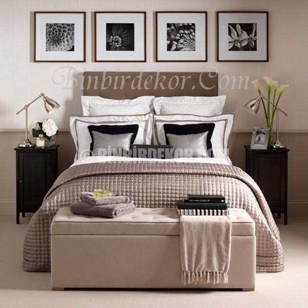 Kum Beji ile ferah yatak odaları
